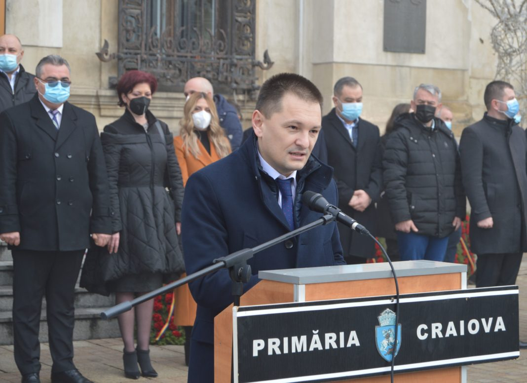 Președintele Consiliului Județean Dolj, Cosmin Vasile
