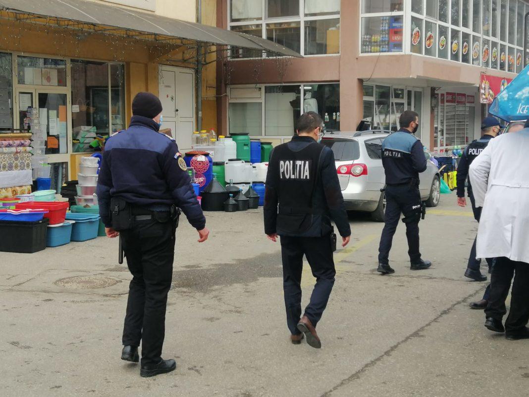 Polițiștii gorjeni au plecat în control. S-a lăsat iar cu amenzi