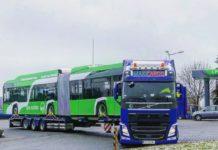 Prototipul primului autobuz electric din cele 16 pe care firma poloneză Solaris Bus & Coach le va furniza RAT SRL va sosi mâine la Craiova.