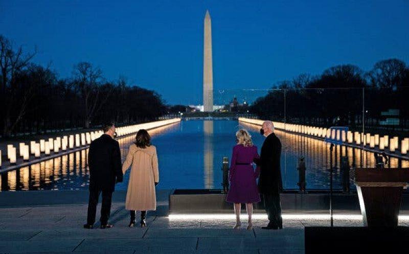 Primul discurs al lui Joe Biden la Washington a fost în memoria victimelor COVID
