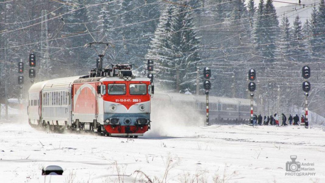 Circulaţia a trei trenuri de călători a fost afectată marţi de temperaturile scăzute