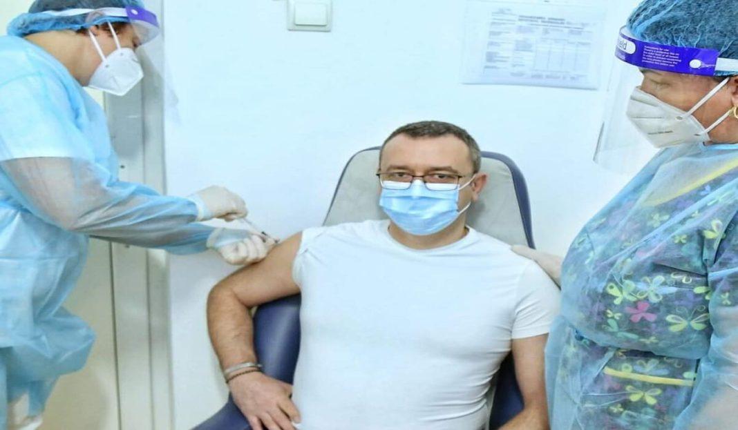 Șeful IPJ Gorj s-a vaccinat împotriva Covid-19