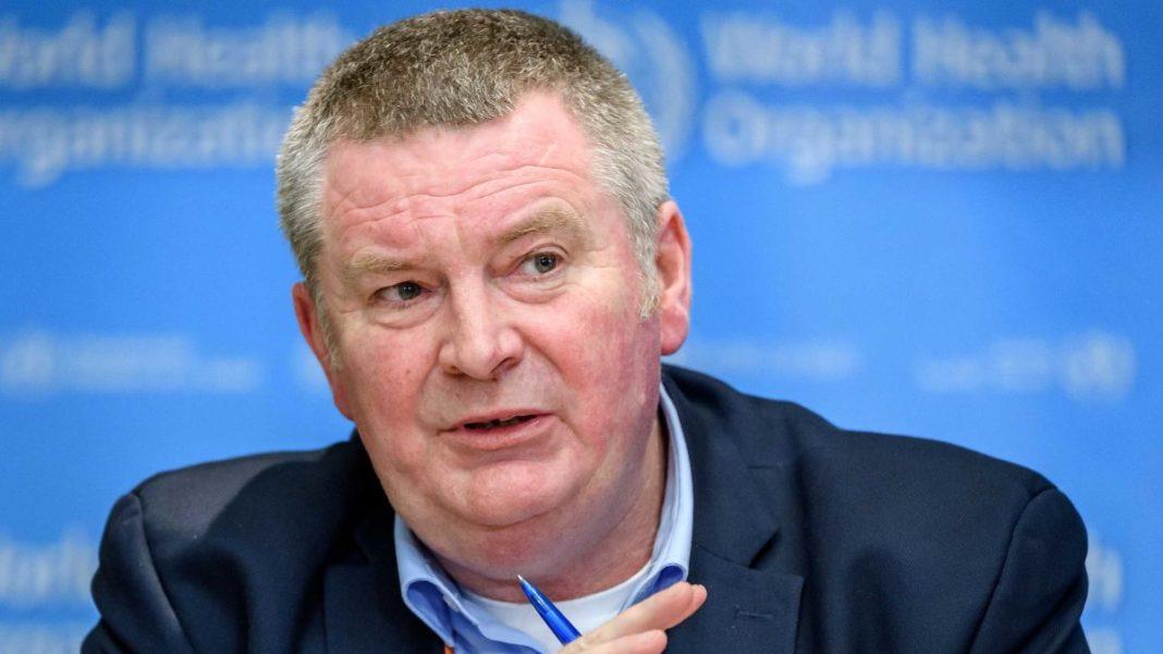 Directorul pentru urgenţe sanitare din cadrul Organizaţiei Mondiale a Sănătăţii (OMS), Michael Ryan