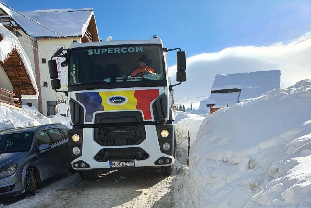 Serviciul de salubritate funcționează greu în zona turistică montană Rânca