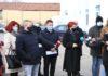 Cpntractul pentru extinderea reţelei de canalizare a fost semnat în prezenţa primariului Craiovei/foto: Claudiu Tudor