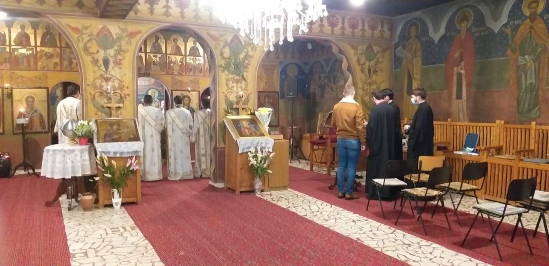 """Seminarul Teologic ,,Sfântul Grigorie Teologul"""" l-a prăznuit luni, 25 ianuarie, pe Sfântul Grigorie Teologul, Ocrotitorul acestui aşezământ"""