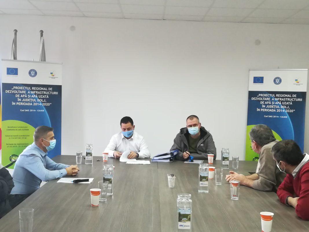 Compania de Apă Oltenia a încheiat până acum contracte de circa 141 de milioane de euro pentru dezvoltarea infrastructurii de apă și apă uzată în județul Dolj