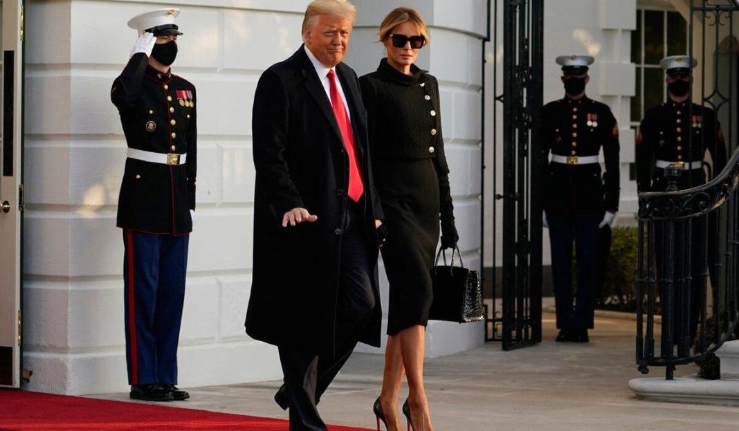 """Donald Trump a plecat de la Casa Albă: """"A fost o mare onoare, onoarea unei vieţi"""""""