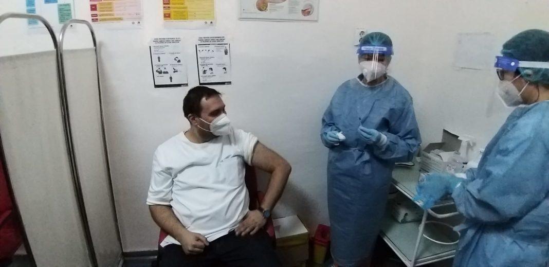 Spitalul Județean de Urgență din Târgu Jiu vaccinează și alte categorii de persoane
