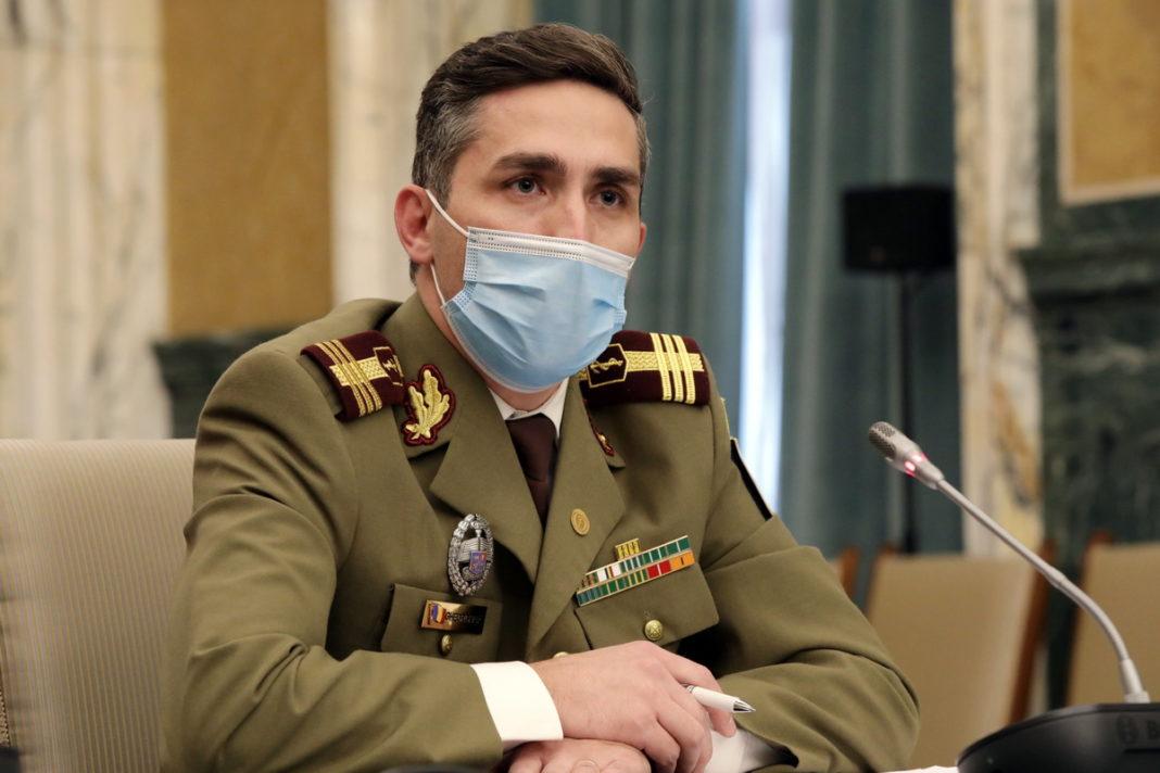 Medicul Valeriu Gheorghiță a anunțat că personalul din învățământ va fi vaccinat până pe 10 martie