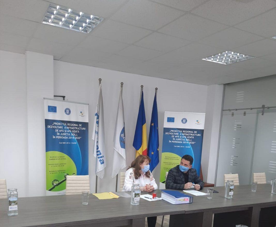 Compania de Apă Oltenia a semnat al doilea contract de achiziție echipamente