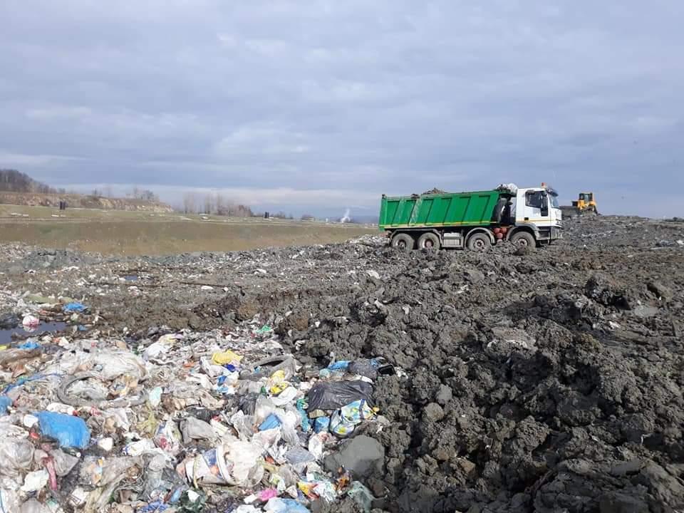 Depozitul de gunoi de la Târgu Jiu