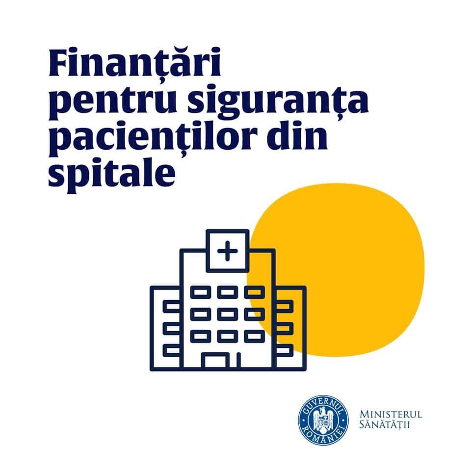 Trei spitale vor beneficia de fonduri europene pentru echipamente și dotări