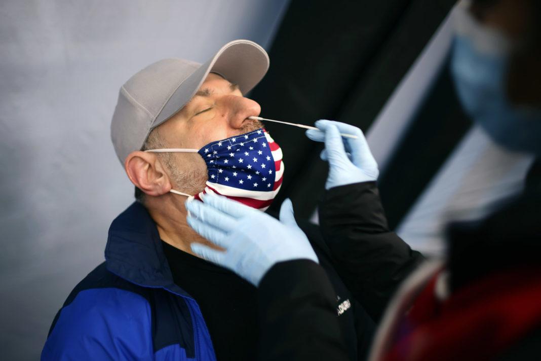 Numărul infectărilor zilnice în SUA, sub 40.000 pentru prima oară după cinci luni