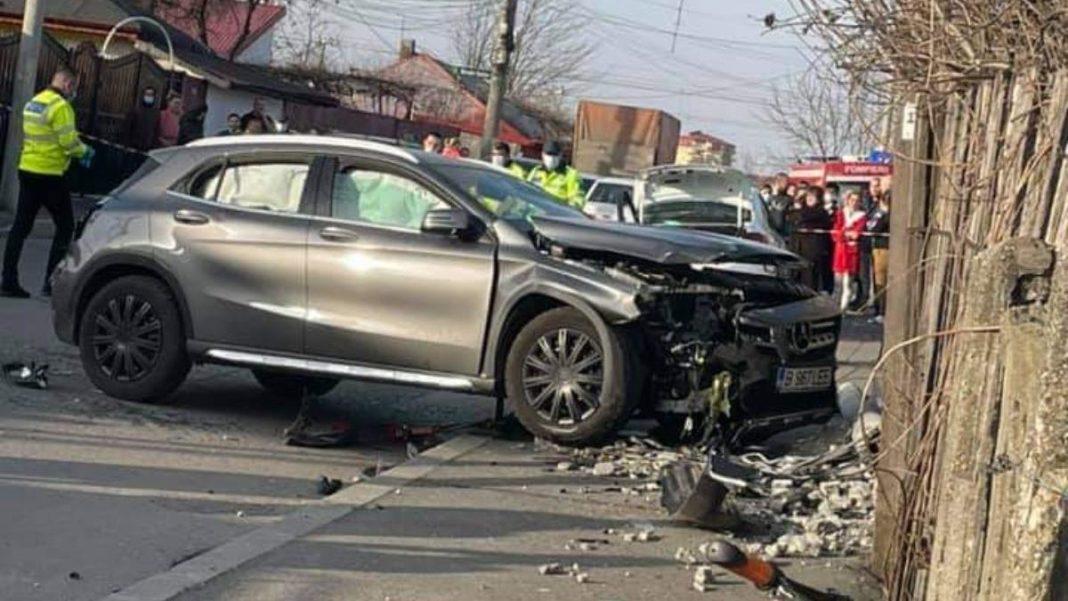 Șoferița care a accidentat mortal două fete în Capitală consumase alcool