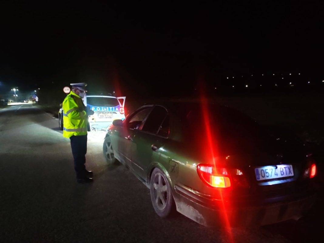 Polițiștii rutieri au organizat, în zilele de 20-21 martie, acțiuni pentru prevenirea și combaterea consumului de alcool