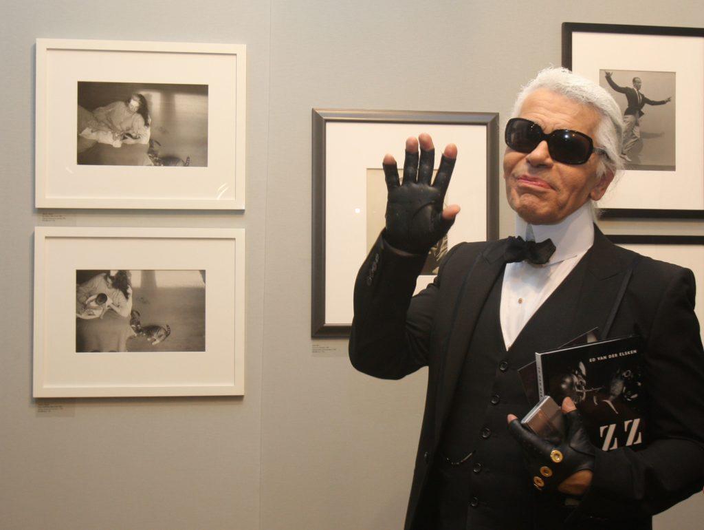 Casa de licitaţii Sotheby's, desemnată să vândă colecţiile lui Karl Lagerfeld