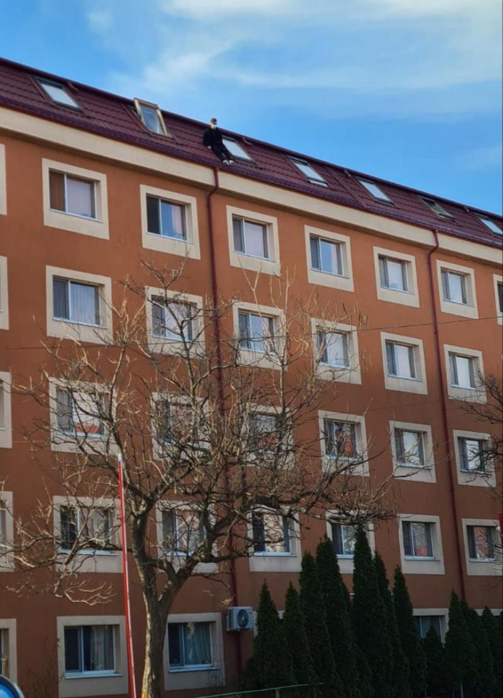 Un tânăr s-a aruncat în gol de pe acoperișul unui cămin din București