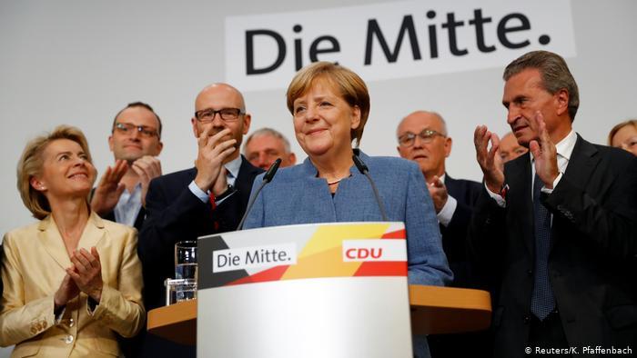 Partidul cancelarului Angela Merkel, înfrânt duminică în alegerile din două landuri importante