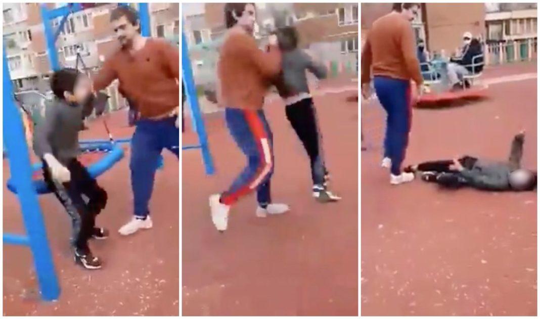 Bărbatul care a lovit un copil într-un parc din Hunedoara, la începutul lunii trecute, a fost pus sub acuzare pentru tentativă de omor