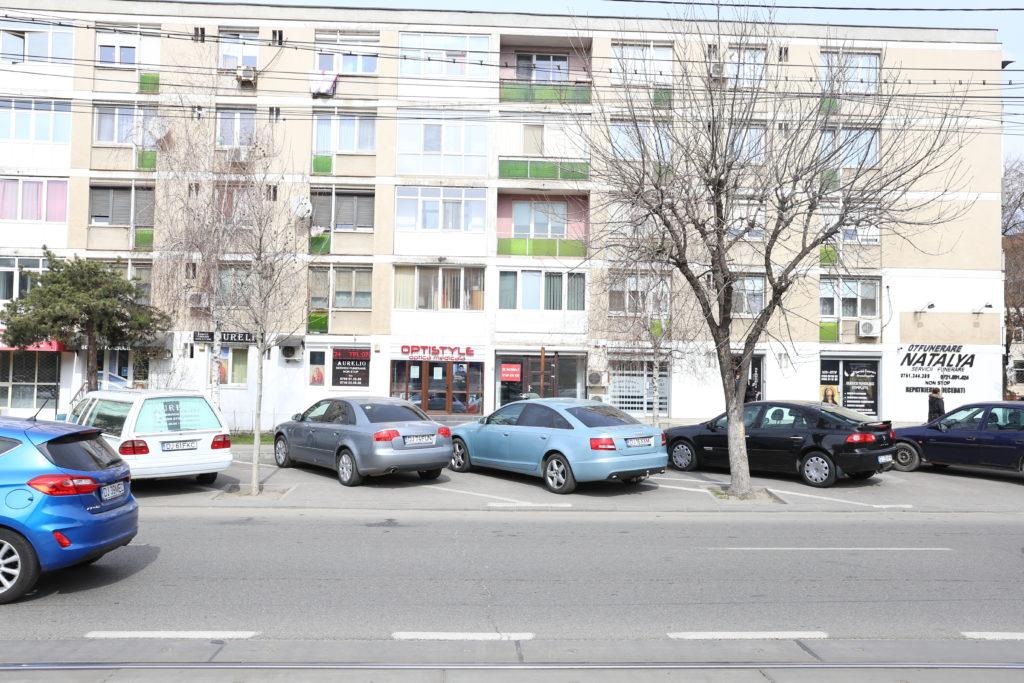 Parcările de pe Calea Bucureşti vor fi destinate locatarilor şi şoferilor aflaţi în tranzit. Firmele vor avea dreptul la un singur loc.