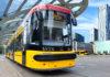 Unul dintre tramvaiele produse de firma poloneză Pojazdy Szynowe Pesa