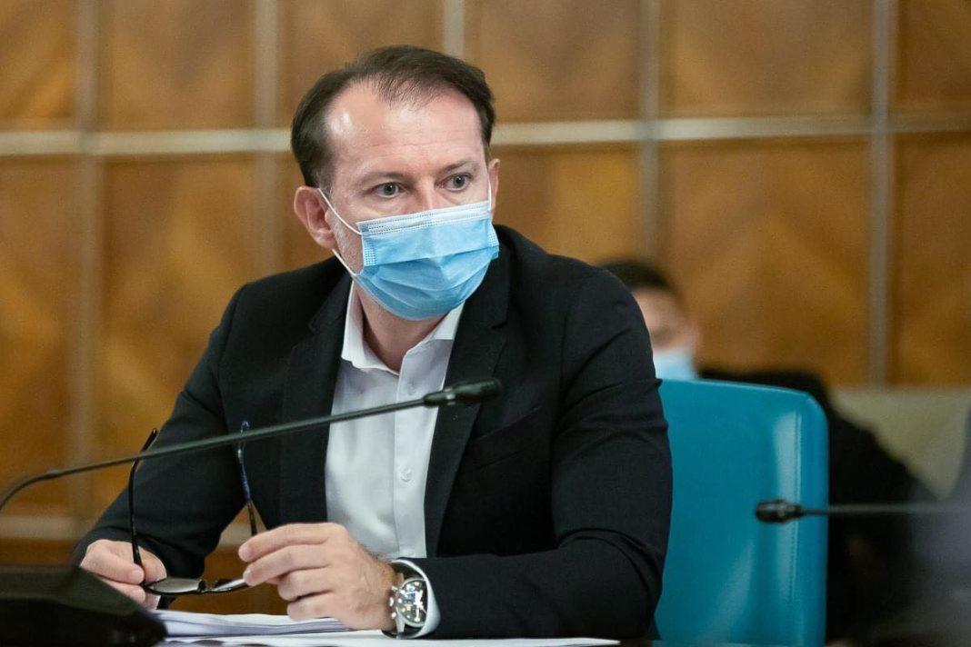 Florin Cîțu își anunță candidatura la șefia Partidului Național Liberal