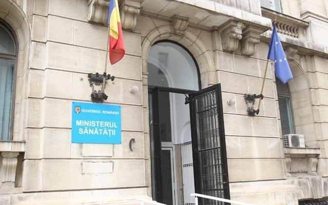 Ministerul Sănătății: Nu există un grup de lucru legal constituit la nivelul instituției