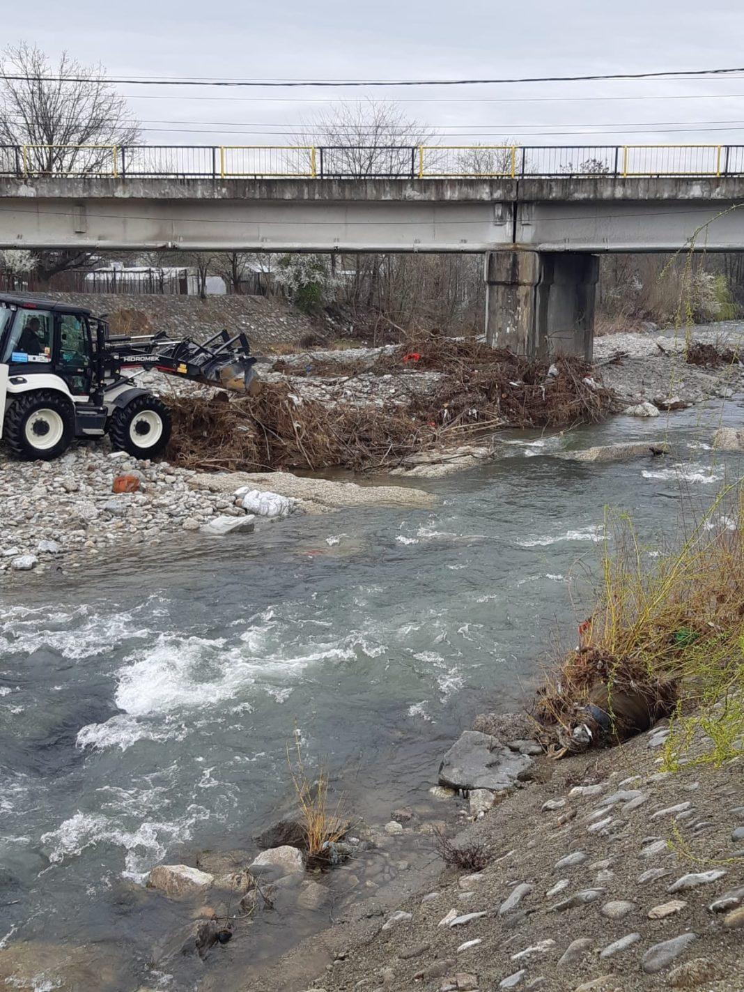 SGA a început să îndepărteze lemnele din albiile râurilor