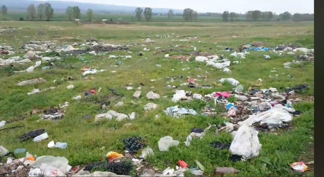 Depozite ilegale de gunoi în Dolj