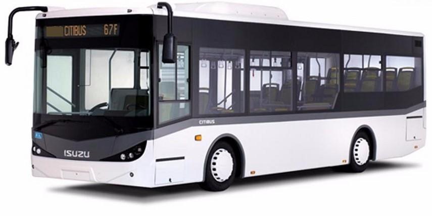 """Operaţiunea autobuzul electric """"made în Turcia"""". Autobuz Isuzu produs de Anadolu"""