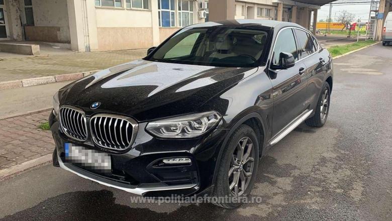 Autoturism de lux căutat de autoritățile române, confiscat în vamă