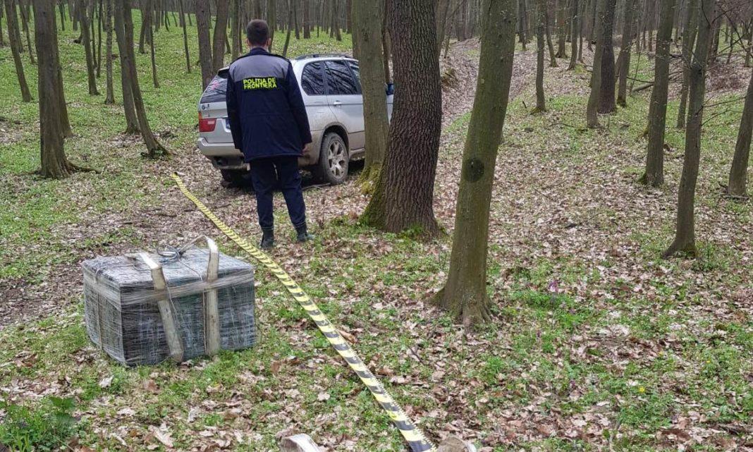 Contrabandişti de ţigări, reţinuţi cu focuri de armă
