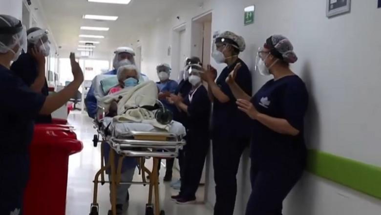 S-a vindecat de două ori de COVID-19, la 104 ani