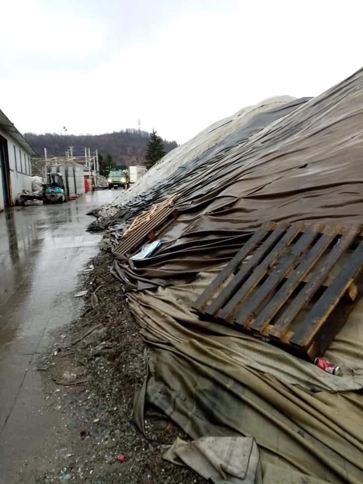 Depozitul de deșeuri a fost amendat luna trecut cu 20.000 de lei