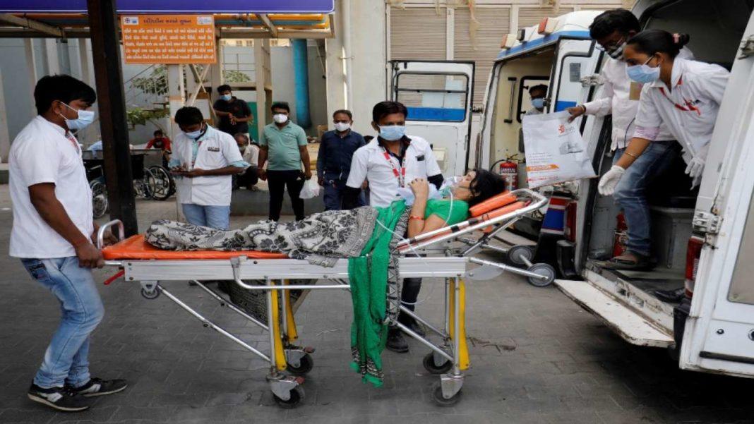 India a raportat cel mai mare număr zilnic de infectări Covid din lume