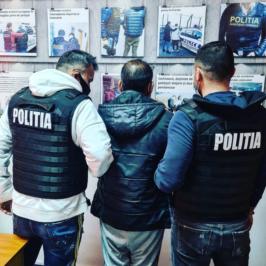 Urmărit internaţional pentru trafic de persoane, reţinut de poliţiştii doljeni
