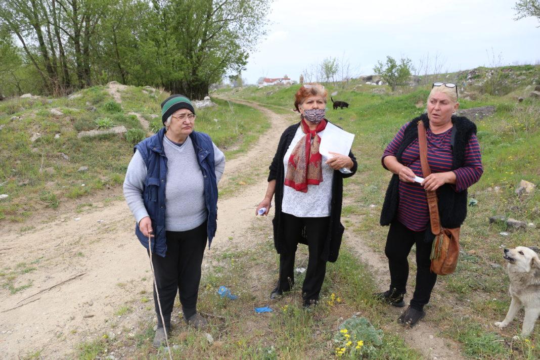 Locuitori din Valea Șarpelui