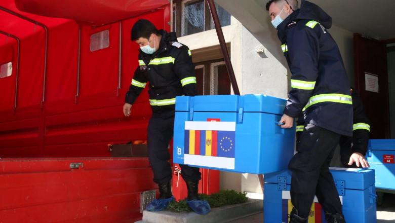 România va trimite la Chișinău a treia tranșă de vaccinuri împotriva COVID-19