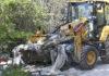 (Galerie foto): Amenzi de peste 200.000 de lei pentru tone de deșeuri aruncate ilegal
