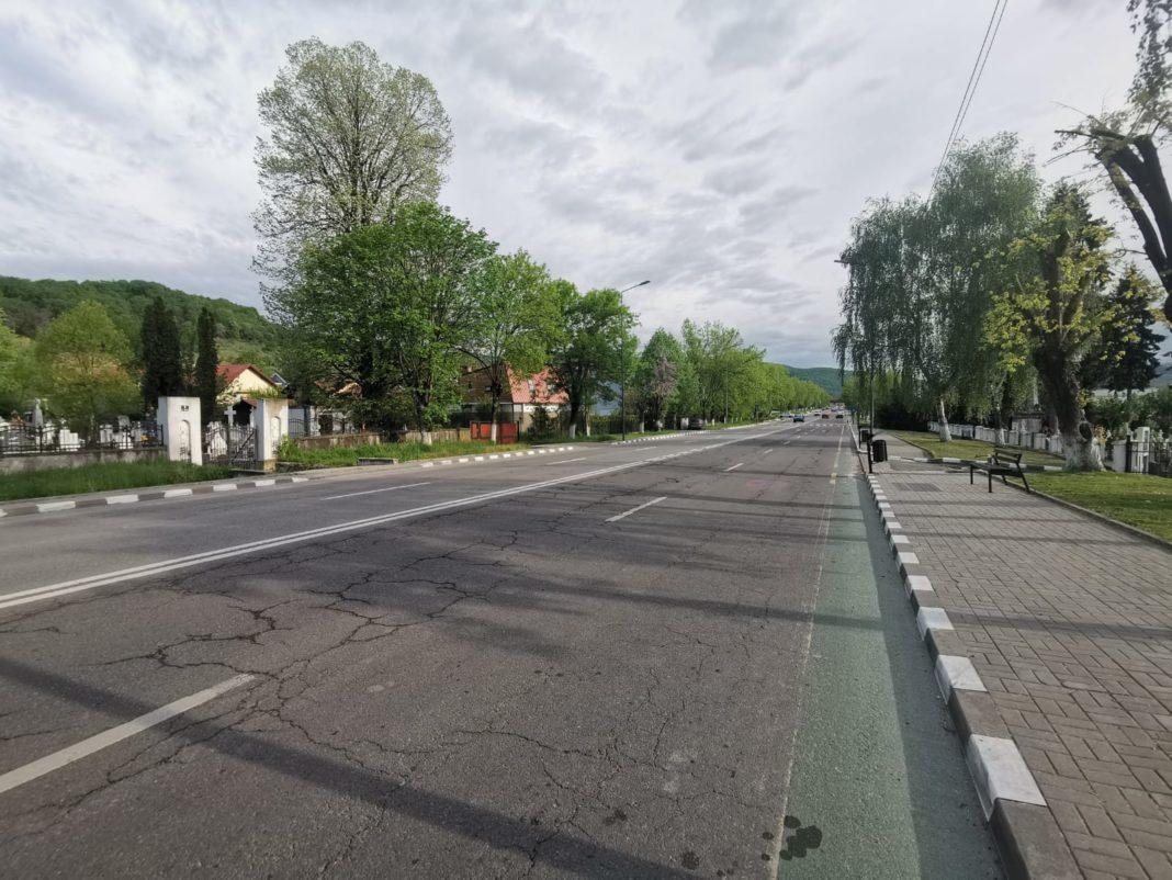 Se reia programul de reparaţii la arterele de circulaţie din Râmnic cu lucrări pe Calea lui Traian Nord
