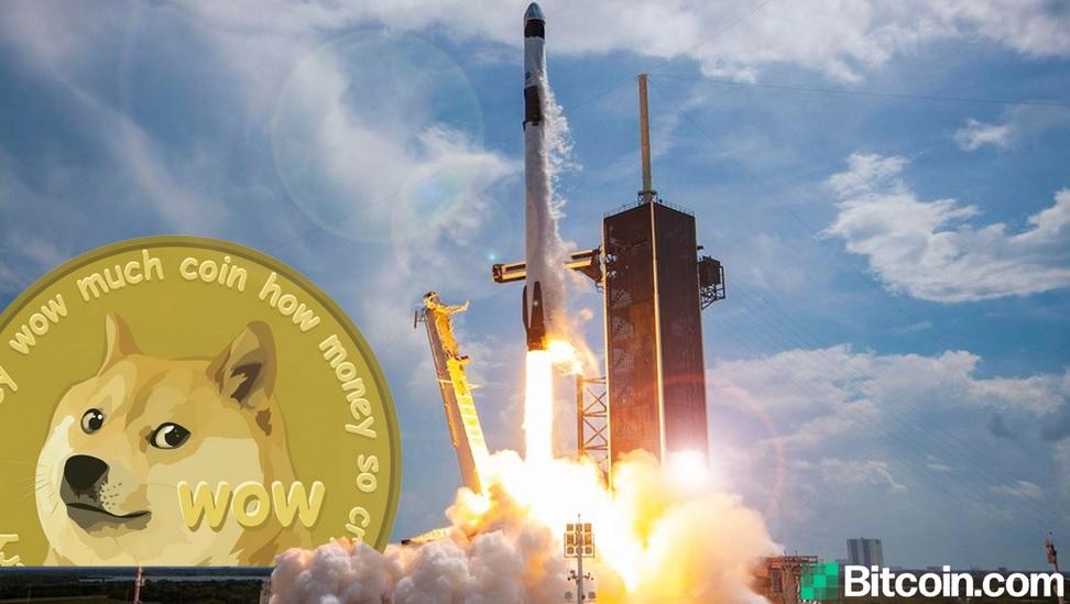 Compania SpaceX a miliardarului Elon Musk va lansa anul viitor un satelit către Lună plătit în totalitate cu criptomoneda Dogecoin