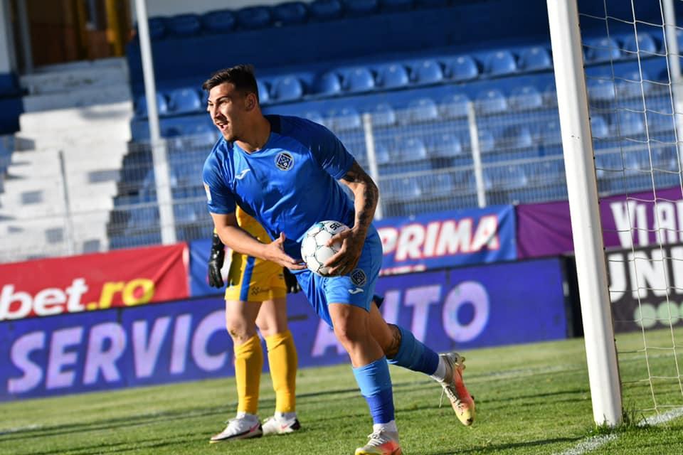 Jovan Markovic a întors soarta meciului Academica Clinceni - FC Botoşani (Foto: facebook Jovan Markovic)