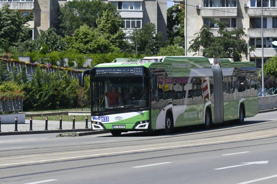 Traseele RAT Craiova vor fi deviate sâmbătă, din cauza competiţiei Super Rally