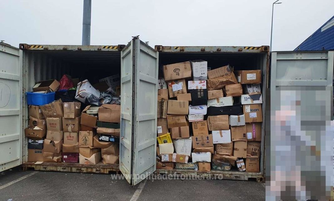 200 de tone de deşeuri depistate în Portul Constanţa şi în PTF Giurgiu