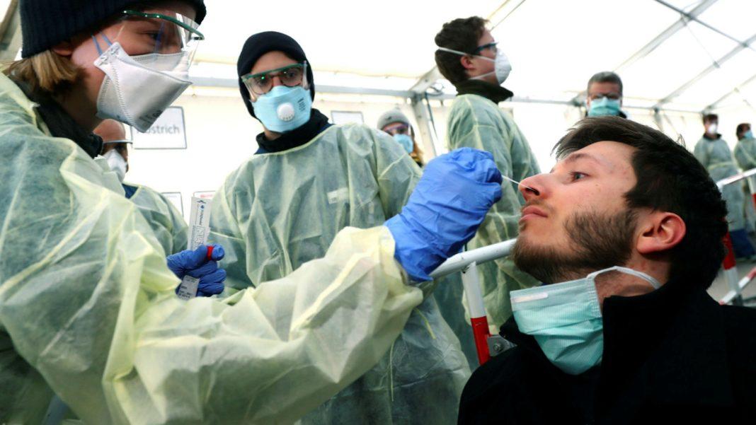 Germania raportează o scădere a numărului infectărilor Covid