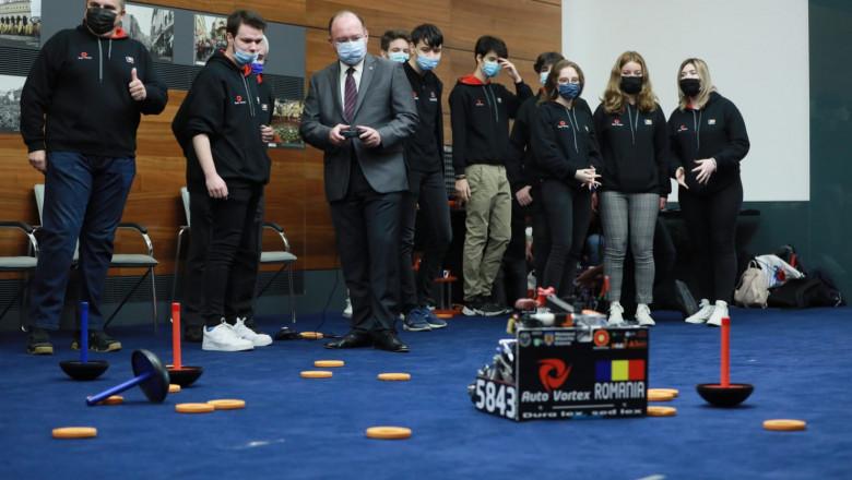 Echipa de robotică a României, campioană mondială
