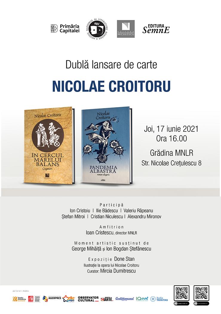Dublă lansare de carte la Muzeul Național al Literaturii Române