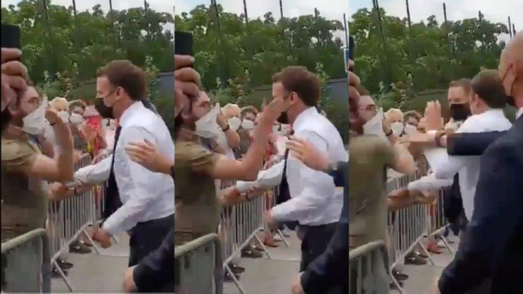 Parchetul cere 18 luni de închisoare împotriva bărbatului care l-a pălmuit pe Macron
