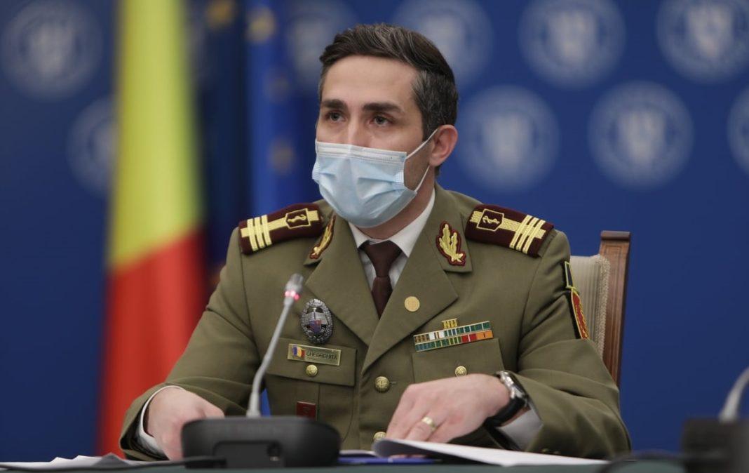 Valeriu Gheorghiţă: Rata de acoperire vaccinală la nivel naţional - aproape 25% din populaţia eligibilă